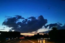 黑雲下,从山鹿市~福岡,跑高速,自驾也要3个小时左右,车程距离!