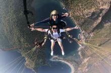 费特希耶滑翔伞,俯瞰地中海,我承认速降的过程中我快吐了…扛不住的别体验,不过还是蛮好玩儿得,哈哈
