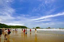 扫描东极(19)— 台风来临前的里沙海滩                 在行前的路书中有安排在朱家