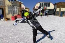 元旦小长假第一天,打卡万龙滑雪场