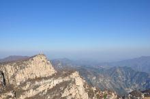 五岳寨望岳亭,海拔仅次于主峰,虽然只差不到两层楼