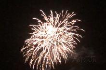 10月的最后一天赶上了洞爷湖今年最后一场烟花秀。