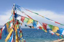 """纳木错,蒙古语称""""腾格里诺尔""""(或""""腾格里海"""");藏语全称为""""纳木措普摩"""",意为富裕天湖(或天湖、灵"""