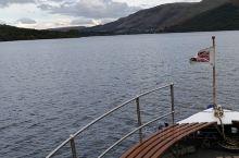 英格兰约克湖区的游船上拍摄