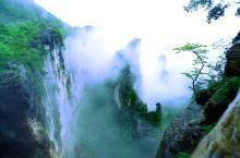 云雾中的黄鹤峰林,犹如仙境
