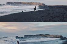 冰岛大大小小的火山堆书数不胜数,据说黑沙滩的形成是远古时候的一次海底火山爆发,海底的泥层都翻出地面,