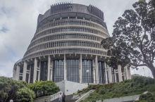 新西兰政府大楼,国会大楼,英国国徽代表英联邦成员,由狮心王理查绘制,象征英格兰金狮、苏格兰独角兽、爱