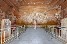 北石窟是甘肃四大石窟之一,位于 西峰市西南东南的茹何和浦河交汇处,距市区25公里,创建于北魏永平二年