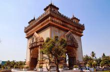 【成都~老挝】骑行之旅 Day15~16老挝首都—万象 老挝和泰国边境 总算有点大城市的赶脚了 万象