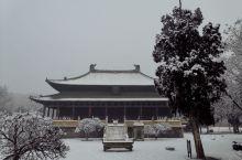 北岳庙雪景