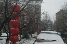2月14号 情人节已经让疫情闹的都不敢出门,早上下雨,晌午开始下雪,任丘这天开始封路,严格把控人员流