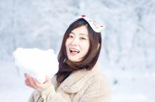 """日本北海道,真实版的冷酷仙境在这里  日本,函馆  """"坐上长长的索道,到山顶就是雪国了""""  函馆七饭"""