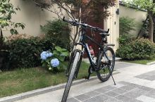 美丽的青山湖,骑行者的天堂!环湖绿道风景秀丽,空气清新,设施完善,成为杭州骑友的首选之地,我在青山湖