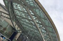 【东瀛游记】美浓国·名古屋绿洲21广场。 水De宇宙船,用150吨强化玻璃以水的宇宙船为主题的环保立