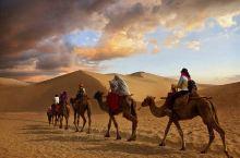 【娱乐体验攻略  骑骆驼 伴着驼铃阵阵,骑着骆驼前往沙漠深处的漠葛营地,赏大漠孤烟、落日沙海,走一