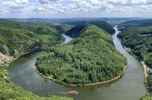 德国奇迹:奇妙的树梢漫步和瞭望台上摩泽尔河的美景German Miracle-A fabulous