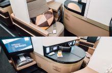 你知道阿提哈德航空的商务舱是怎样的吗? 「muSe畅 × @阿提哈德航空公司 」 此次受邀前往英国曼