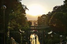 宫地嶽神社,只有每年2月和10月这2个星期才能欣赏到完美无瑕的光之道!从福冈博多开车需要40分钟26