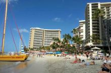 去威基基海滩,体会夏威夷风情