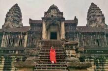 """#行摄柬埔寨#小吴哥 小吴哥其实就是我们通常所称的""""吴哥窟"""",又称吴哥寺。      由于战争的原因"""
