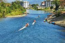 #行摄南松河#  我丈量过的每一个地方,那都是我该去的远方。  今年的春节假期选择去老挝真的是选对了