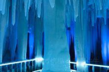 晶莹剔透的冰洞