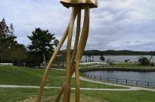 常盘公园里奇葩又可爱的雕塑  都是在历次雕塑比赛中的获奖作品,据说还时常换位置