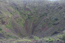 五大连池火山口