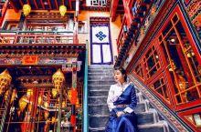 人生中一定要去一次西藏西藏拉萨最美的网红客栈  这是一家西藏拉萨独具特色的藏式客栈整个客栈充满浓郁的