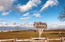在羊之丘展望台,羊之丘展望台,免费割草体验活动第一天,这里风景宜人 远处可以看到富士山 还有美丽的海