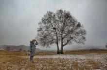 广阔无垠的内蒙古赤峰市克什克腾旗乌兰布统草原,这里的冬季如神一般得存在,这里为塞罕坝上纯天然的草原,