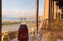 看日落海边餐厅就餐 美美哒