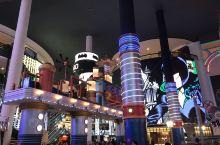 雲頂室內遊樂場,大型的遊樂設施,非常不錯