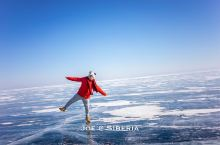 冬季旅游好去处,贝加尔湖看大片的裂纹蓝冰  贝加尔湖经典的北线一日游,从奥尔洪岛出发,会先游玩一些临