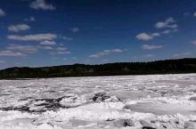 黑龙江北极村段 开江跑冰排了