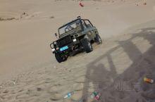 和田的沙漠一望无际,你可以来滑沙,你可以来足浴,但是你不可以乱扔垃圾,这是人类的环境要保护哦(´-ω