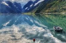 秋天的挪威峡湾,美得无法用语言形容!