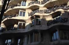 巴塞罗那高迪的建筑。