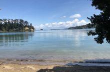 去年学校野营去了waiheke island 景色超美 海水十分清澈