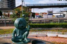 """瞧,一下境港市""""妖怪火车"""",就能看到,妖怪街""""妖怪们"""",在开世界妖怪会仪!"""
