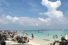 沙滩,蓝天,慢节奏的休闲,度假圣地