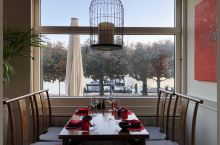 卢塞恩湖畔的中餐厅