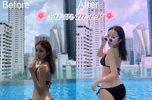 打卡曼谷无边泳池酒店|泳池调色分享 𝓼𝓾𝓶𝓶𝓮𝓻 前段时间跟闺蜜去曼谷玩,泼水宋干节加上