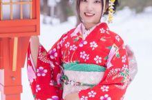 浮力旅行|北海道旅拍记|京都の纯色日记 陷入了雪色的京都有着别样的宁静,再傲娇的气温也要穿着一身和服