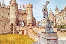 一座河边的城堡,一份古老的味道  安特卫普历史最悠久的斯滕城堡如今已经是比利时国家海事博物馆了,没参
