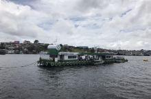 内格罗河意思是黑河,是亚马逊河北岸最大的一条支流,河道可通航是主要的运输通道,这些是河道上浮动的加油