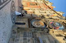 布拉格老城广场的早晨
