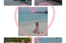 马代蜜月旅行 最近又翻出六年前的马代蜜月照,不禁想起那里的海水和沙滩,是一种无法用相机拍出来的美,当
