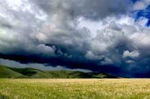 三河马部落。一个牧人一群牛马,往往看不到牧人,风景震撼,遇上暴雨,见证了风云变幻及雨后彩虹。三河马与