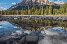 卡斯尔山,摄影爱好者的天堂  地址:Castle Mountain, Banff National